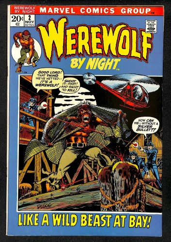Werewolf By Night #2 VF+ 8.5 Mark Jeweler's Insert Variant!