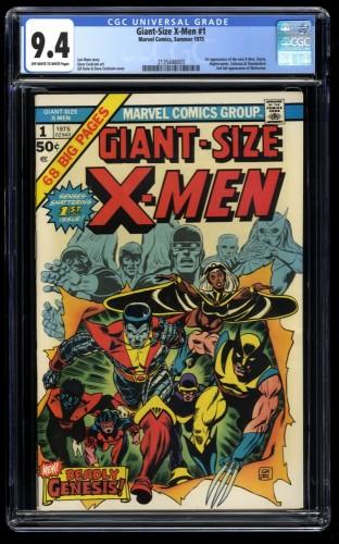 Giant-Size X-Men #1 CGC NM 9.4 Off White to White