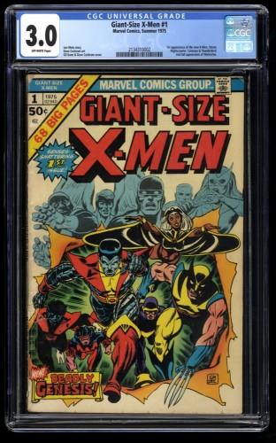 Giant-Size X-Men #1 CGC GD/VG 3.0 Off White