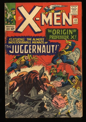 X-Men #12 VG 4.0 1st Juggernaut! Marvel Comics