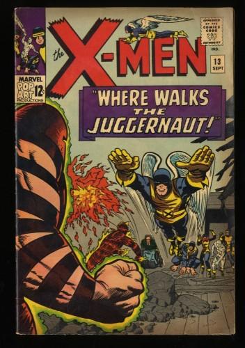 X-Men #13 VG/FN 5.0 2nd Juggernaut! Marvel Comics
