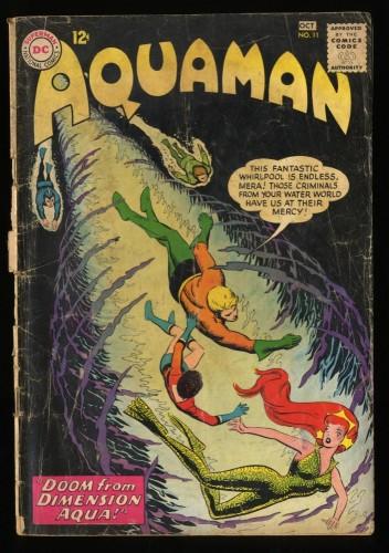 Aquaman #11 GD- 1.8 1st Mera!