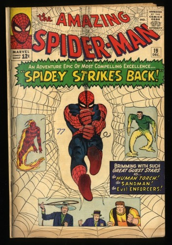 Amazing Spider-Man #19 VG 4.0 Marvel Comics Spiderman