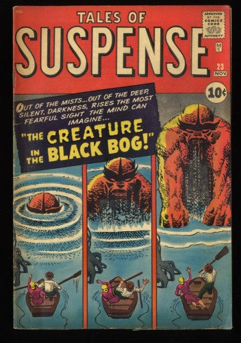 Tales Of Suspense #23 VG 4.0