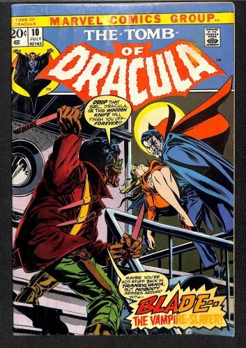 Tomb Of Dracula #10 VG- 3.5 1st Blade! Marvel Comics