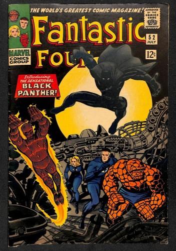 Fantastic Four #52 VG/FN 5.0 1st Black Panther! Marvel Comics