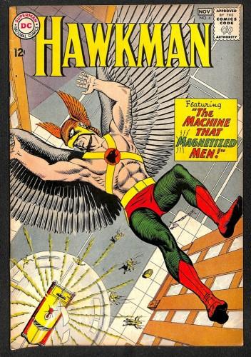 Hawkman #4 VG- 3.5 1st Zatanna! DC Comics