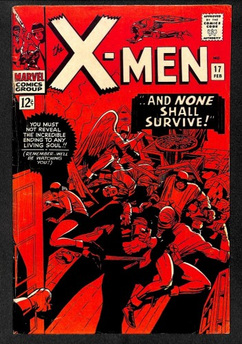 X-Men #17 FN- 5.5 Marvel Comics