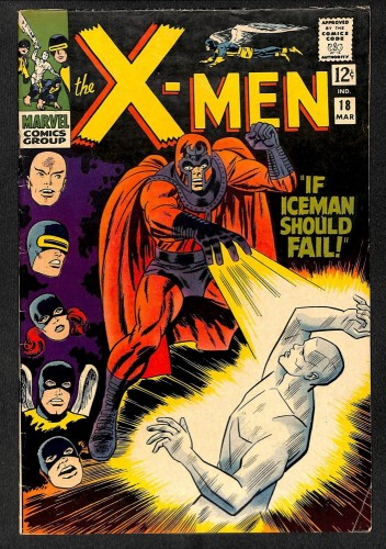 X-Men #18 FN+ 6.5 Marvel Comics