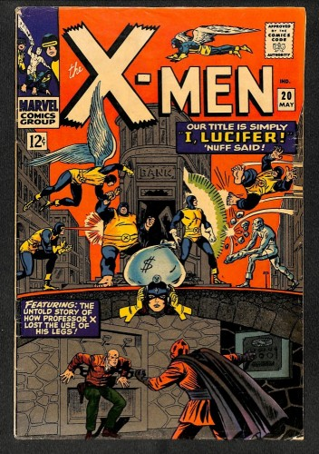 X-Men #20 VG/FN 5.0 Marvel Comics
