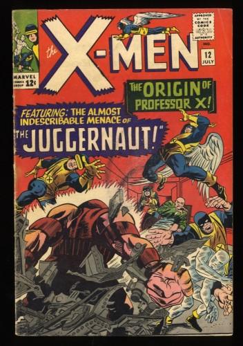 X-Men #12 VG- 3.5 1st Juggernaut! Marvel Comics