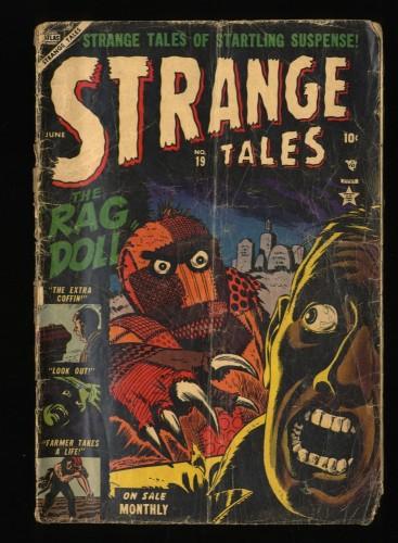 Strange Tales #19 Inc 0.3