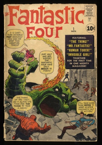 Fantastic Four #1 GD 2.0 Marvel Comics