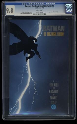 Batman: The Dark Knight Returns #1 CGC NM/M 9.8 White Pages