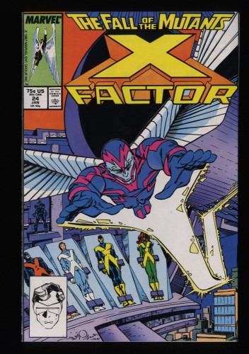 X-Factor (1986) #24 NM 9.4 1st Archangel!
