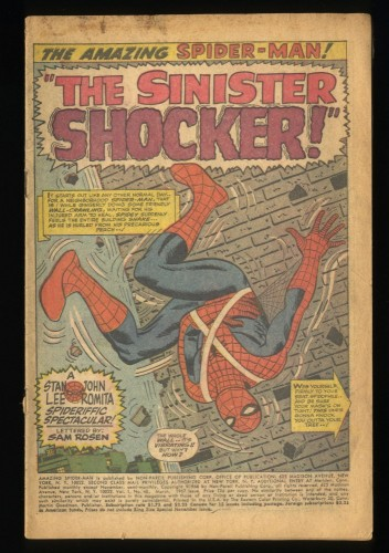 Amazing Spider-Man #46 1st Shocker! Coverless