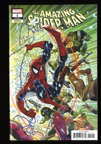 Amazing Spider-Man (2018) #1 NM- 9.2 Larsen Remastered Color 1:1000 Variant