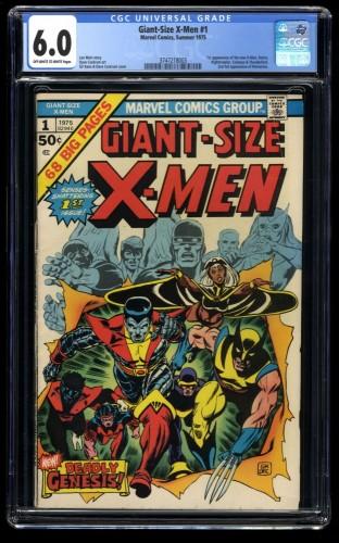 Giant-Size X-Men #1 CGC FN 6.0 Off White to White