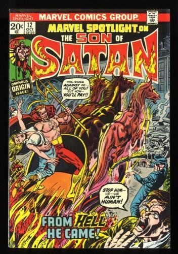 Marvel Spotlight #12 VF 8.0 1st Son of Satan! Comics