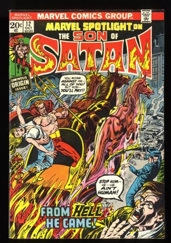 Marvel Spotlight #12 FN 6.0 1st Son of Satan! Comics