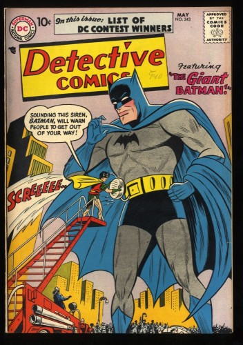 Detective Comics #243 VG/FN 5.0