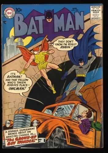 Batman #107 VG/FN 5.0