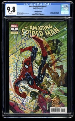 Amazing Spider-Man (2018) #1 CGC NM/M 9.8 1:1000 Larsen Remastered Color Variant