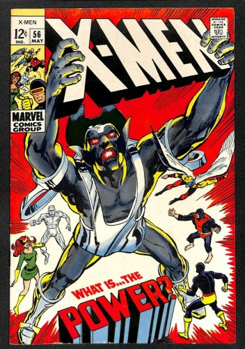X-Men #56 FN 6.0 1st Living Monolith Neal Adams! Marvel Comics