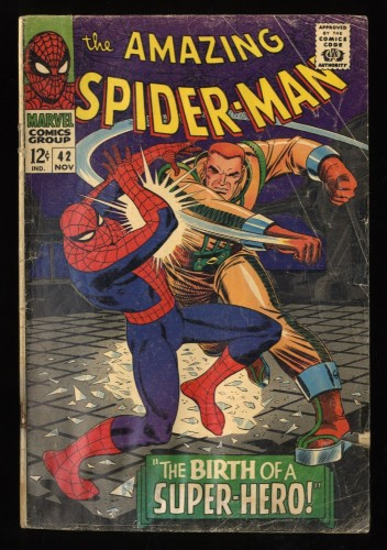 Amazing Spider-Man #42 GD- 1.8 1st Mary Jane Watson! Marvel Comics Spiderman