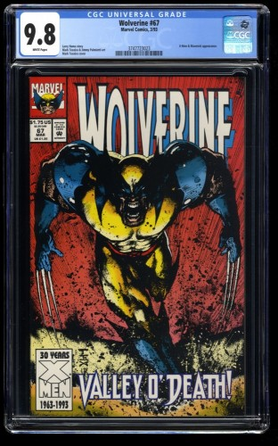 Wolverine #67 CGC NM/M 9.8 White Pages