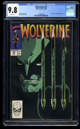 Wolverine #23 CGC NM/M 9.8 White Pages
