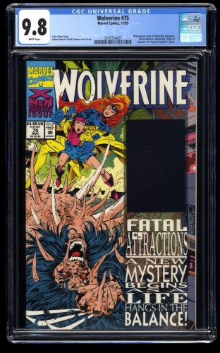 Wolverine #75 CGC NM/M 9.8 White Pages