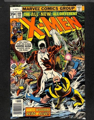 X-Men #109 GD/VG 3.0 1st Weapon Alpha! Marvel Comics