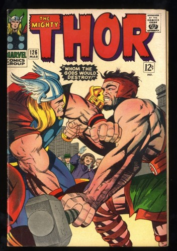Thor #126 VG 4.0 1st issue! Marvel Comics