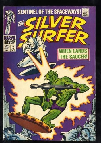 Silver Surfer #2 FN- 5.5 1st Badoon Marvel Comics