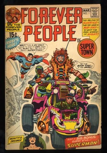 Forever People #1 VG 4.0 1st Full Darkseid!
