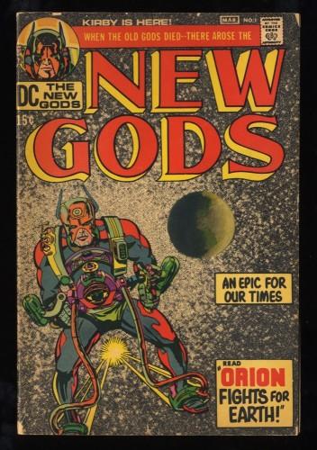 New Gods #1 VG+ 4.5