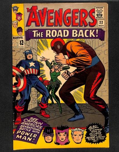 Avengers #22 VG/FN 5.0 Marvel Comics Thor Captain America
