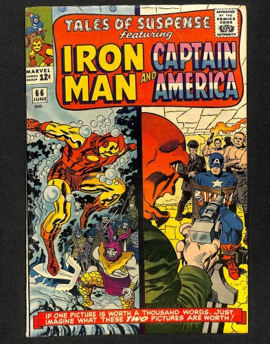 Tales Of Suspense #66 FN 6.0 Red Skull! Iron Man