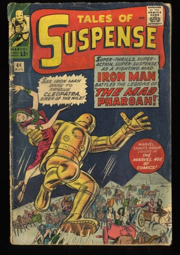 Tales Of Suspense #44 GD+ 2.5 Iron Man