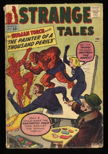 Strange Tales #108 GD 2.0 Marvel Comics Nick Fury Doctor Strange Torch