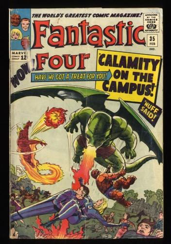 Fantastic Four #35 GD+ 2.5 Marvel Comics