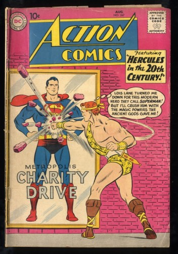Action Comics #267 GD+ 2.5 3rd Legion of Super-Heroes! DC Superman