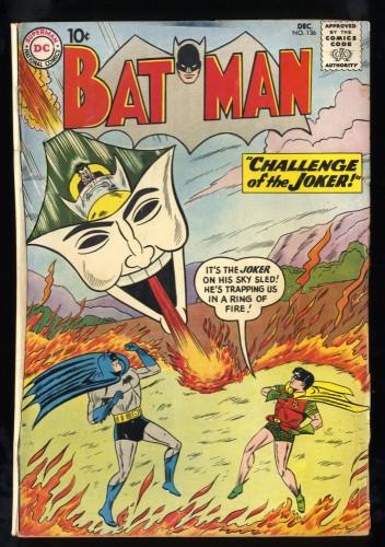 Batman #136 GD/VG 3.0 Joker Cover!
