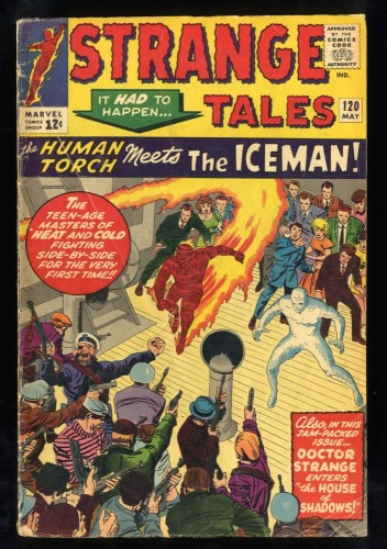 Strange Tales #120 GD/VG 3.0 Human Torch Ice Man!