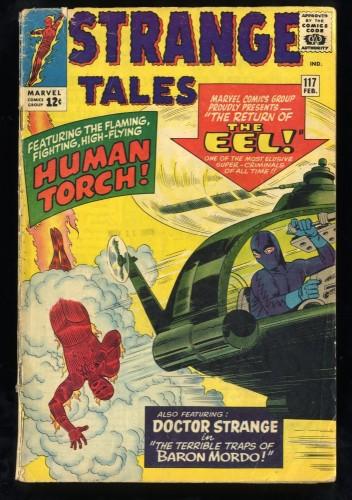 Strange Tales #117 GD+ 2.5 Marvel Comics Nick Fury Doctor Strange Torch