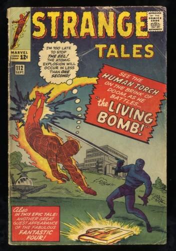 Strange Tales #112 GD/VG 3.0 Marvel Comics Nick Fury Doctor Strange Torch