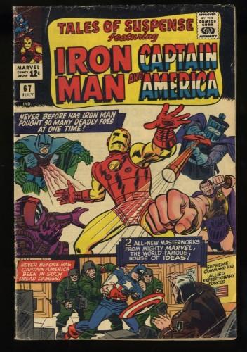 Tales Of Suspense #67 VG- 3.5 Iron Man