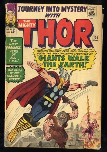 Journey Into Mystery #104 Inc 0.3 Marvel Comics Thor