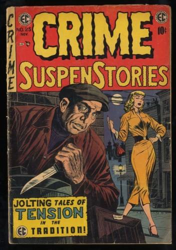 Crime Suspenstories #25 GD+ 2.5